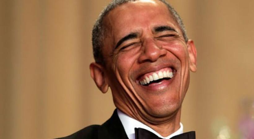 Takkeli Obama'nın fotoğraflarını yayınladılar