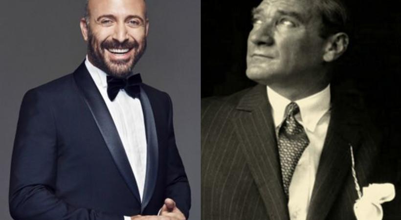 Halit Ergenç'li Atatürk filminin kadrosuna hangi oyuncu katıldı?