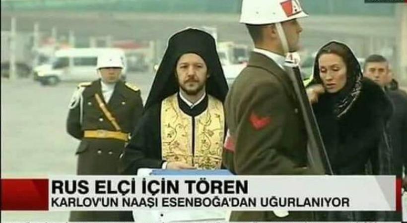 Papazın Nihat Doğan'a benzerliği olay oldu!