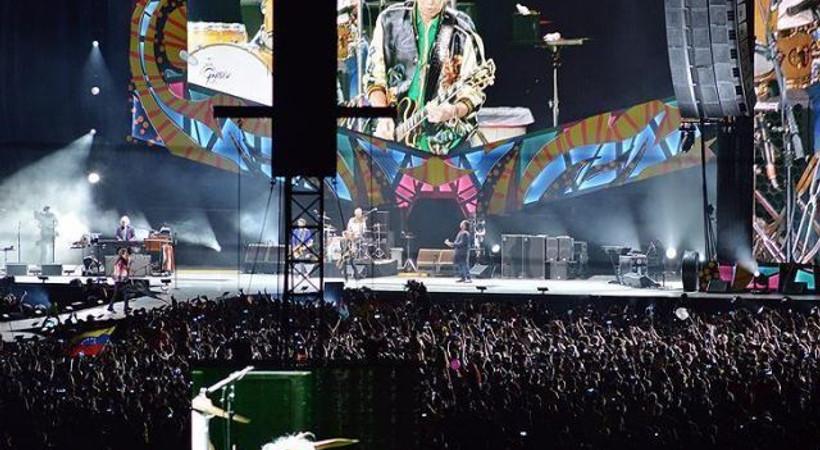 Rolling Stones Küba'yı salladı!