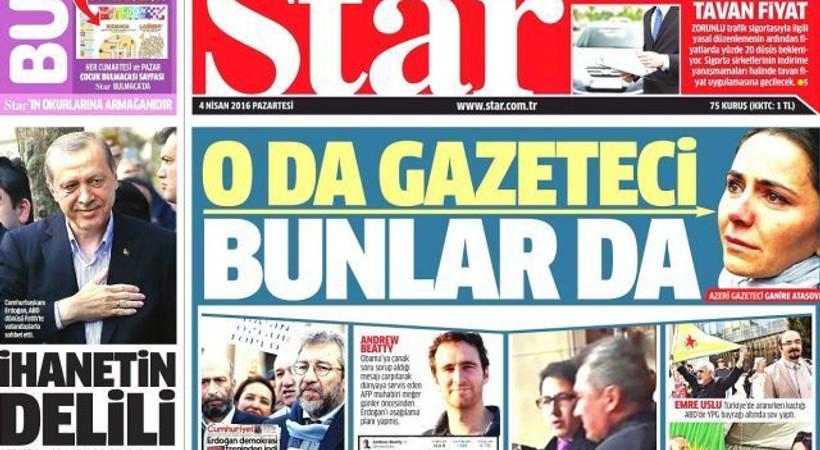 Star, gazeteciliğin tarifini 'hedef tahtasıyla' yaptı! İşte, tepki toplayan o manşet...
