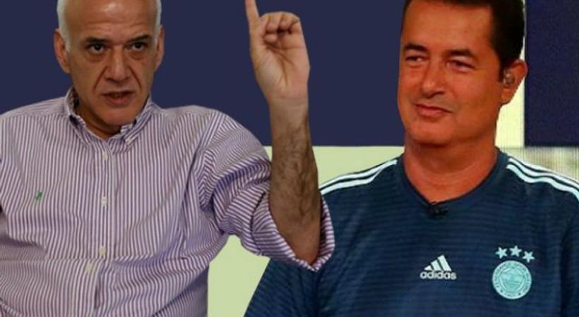 Ahmet Çakar'ın Max Kruse yorumuna Acun Ilıcalı'dan sert tepki!