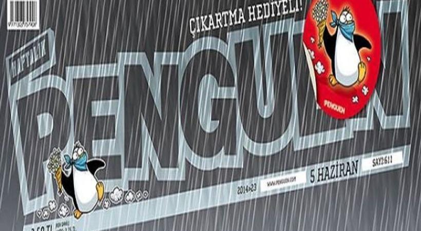 İstanbul'u sel aldı, TOMA tazyikli su sıkmaya devam etti! Penguen'in kapağında