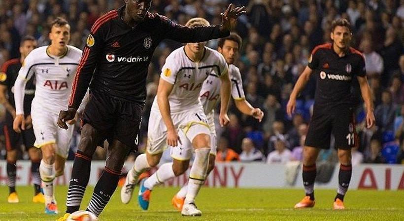 Twitter'da Beşiktaş - Tottenham gündemi!