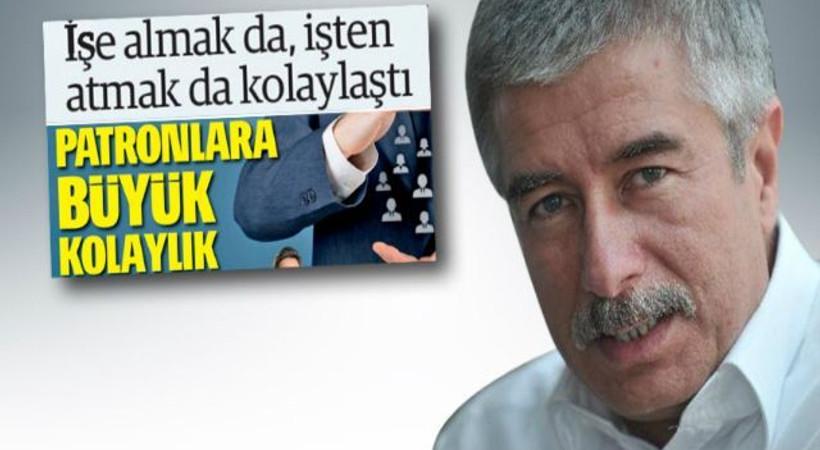 Faruk Bildirici'den Türkiye Gazetesi'nin o başlığına eleştiri!