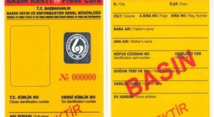 Hangi medya patronunun sarı basın kartı başvurusu reddedildi?