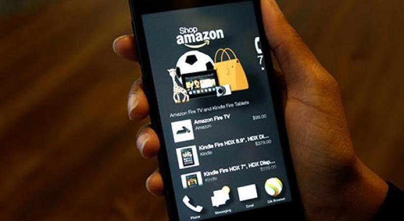 Amazon'un ilk akıllı telefonu tanıtıldı