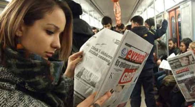 Ekonomik darboğaz sayfa yutmaya devam ediyor... Evrensel gazetesi artık 12 sayfa!