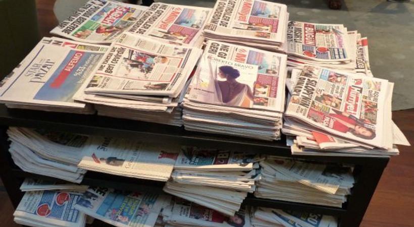 Haziran ayının ilk haftasında hangi gazete kaç adet sattı?