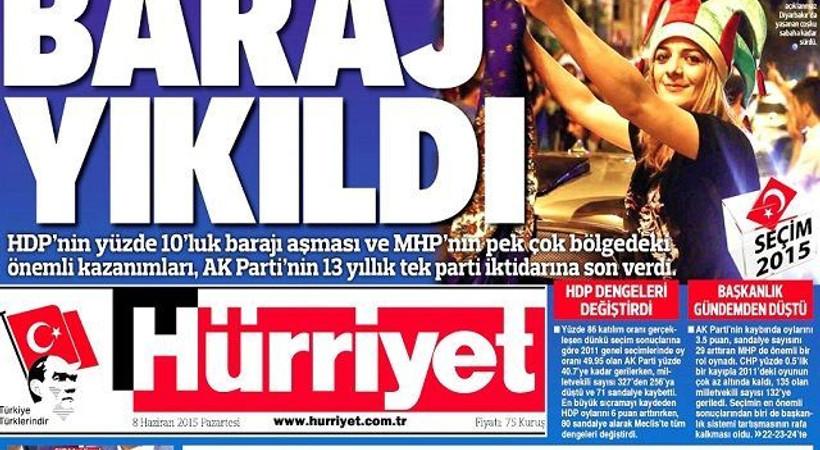 Türkiye seçimini yaptı, gazeteler tarihi manşetlerle çıktı!