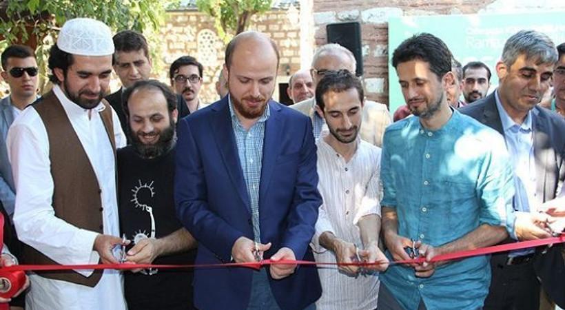 Bilal Erdoğan, karikatür sergisini açtı