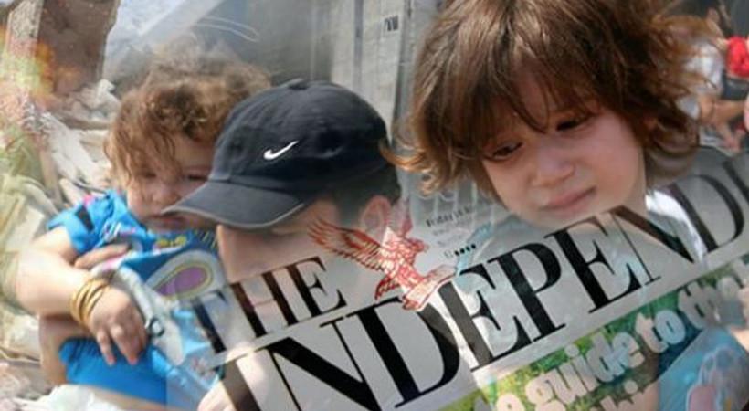 Independent'ın 'Türkiye' yalanı ortaya çıktı, gazeteye tepki yağdı!