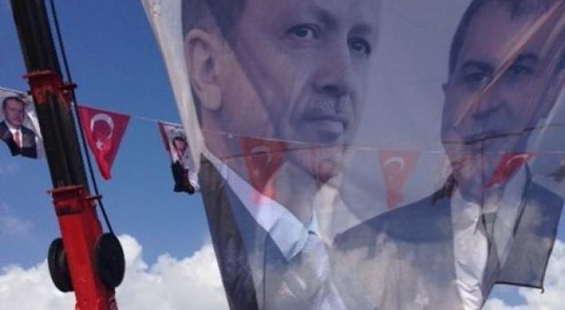 Erdoğan'ın mitingine gazeteci olarak giremediler!