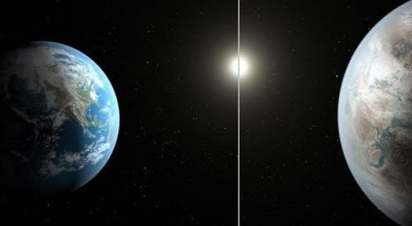 NASA Başka bir dünya mümkün dedi Twitter sallandı!