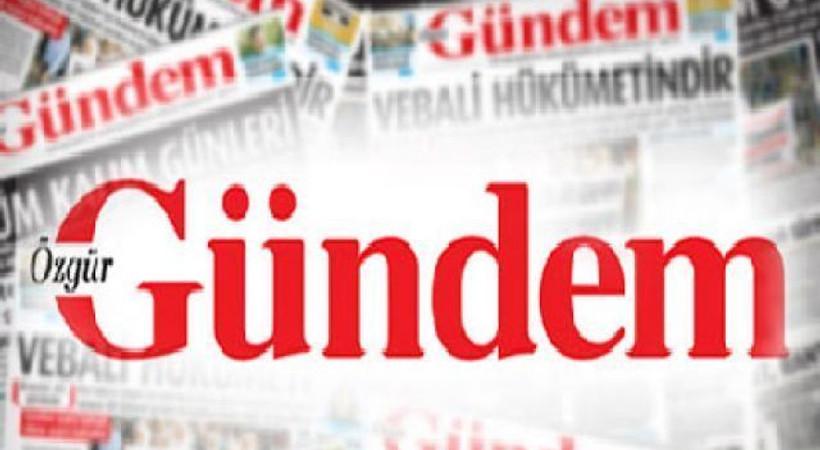 Kapatılan Özgür Gündem gazetesi bu manşetle çıktı!