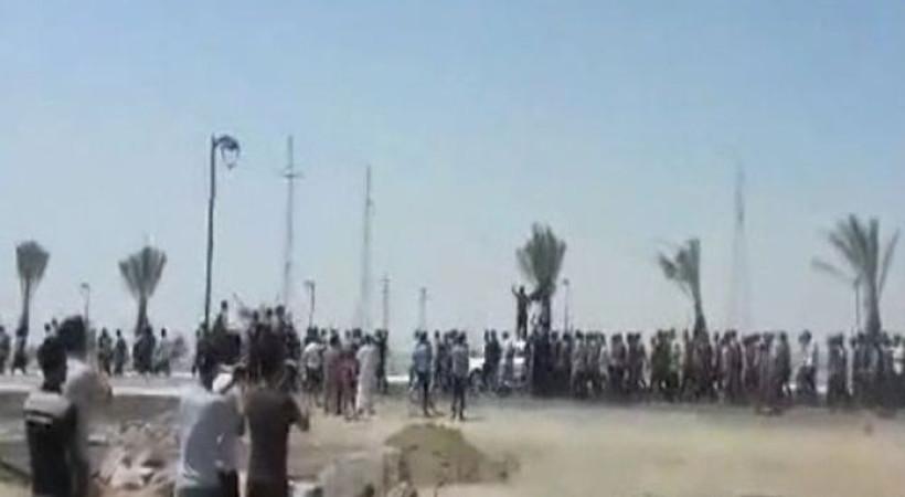 IŞİD 4 bin 500 askeri yürüttü, görüntüler sosyal medyaya bomba gibi düştü!