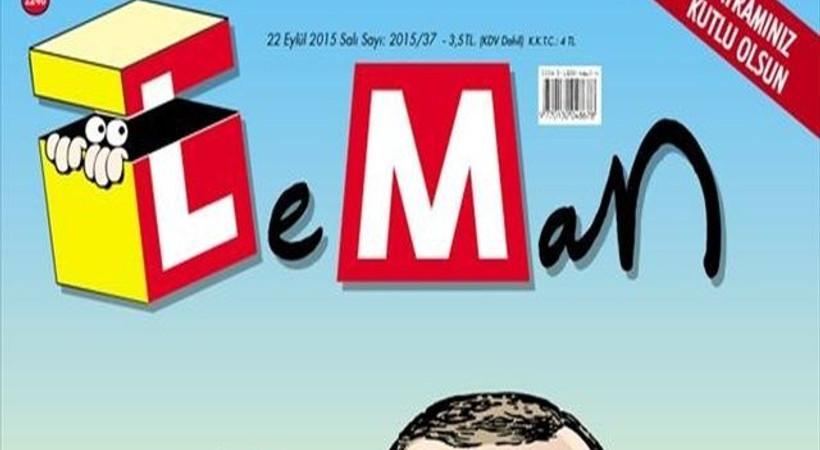 Cumhurbaşkanı Erdoğan'ın kurbalık selfie'si LeMan'ın kapağında!