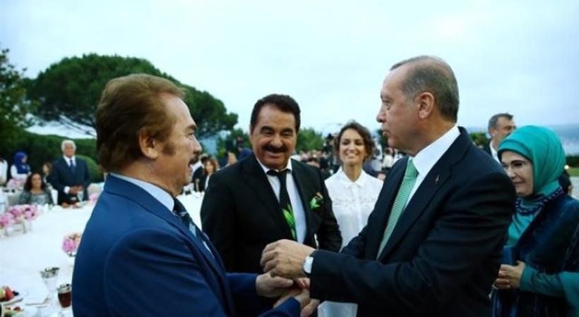 Erdoğan'ın Tarabya Köşkü'nde verdiği iftarda ünlüler geçidi