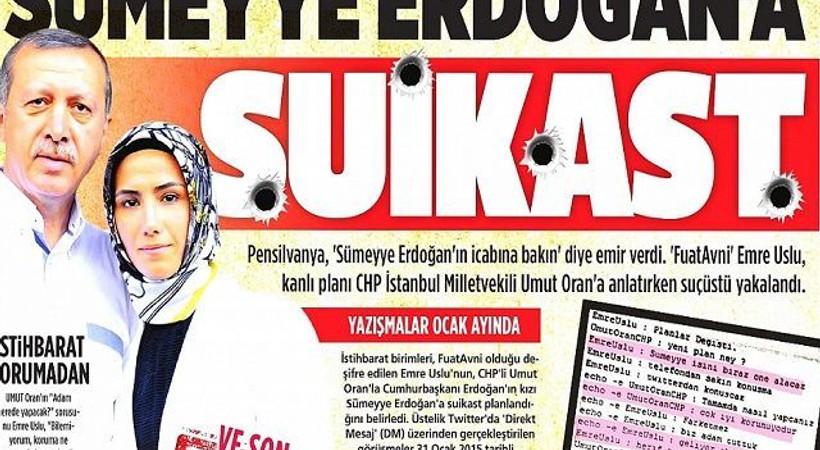 'Sümeyye Erdoğan'a suikast' iddiasını yalanlayan hakimle ilgili yeni karar!