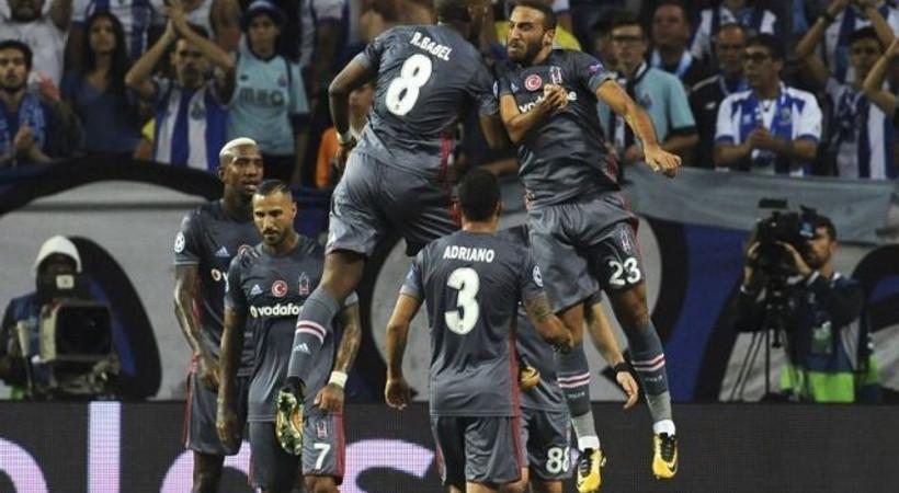 Porto-Beşiktaş karşılaşması sosyal medyanın gündemine oturdu!