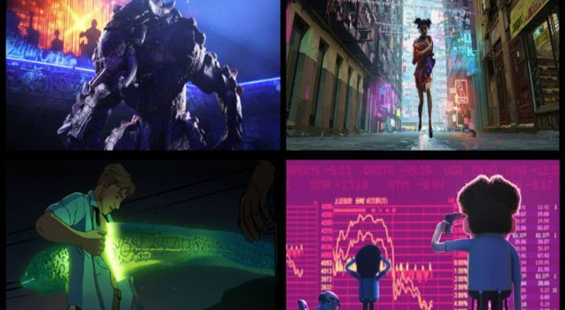 Netflix'in ilk animasyon antoloji dizisi: Love, Death & Robots