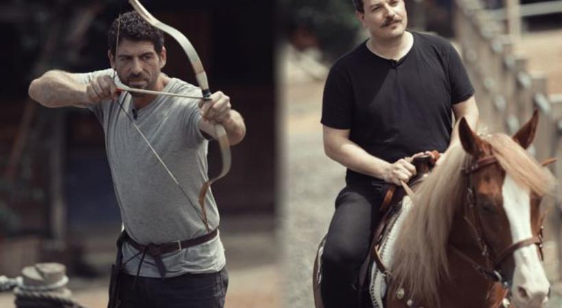 Cemal Hünal Mehmet Turgut'a at binmeyi öğretti