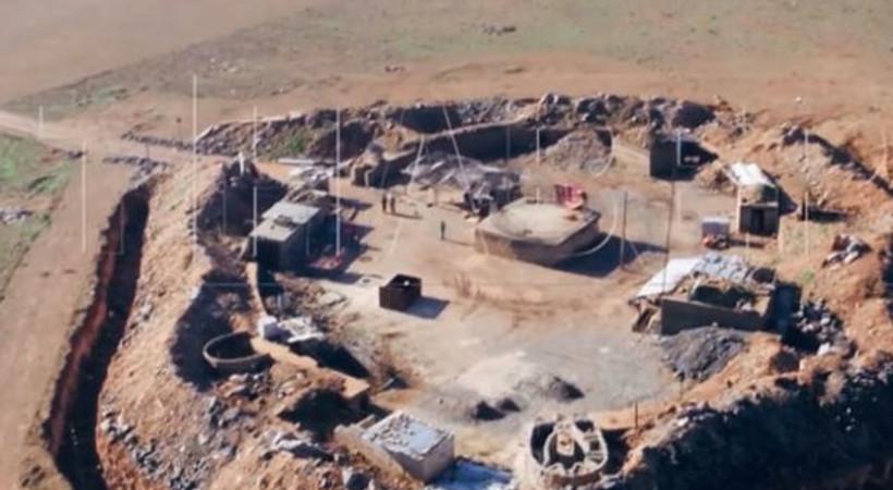 Teröristler kendilerini görüntüleyen TRT dronuna ateş açtı