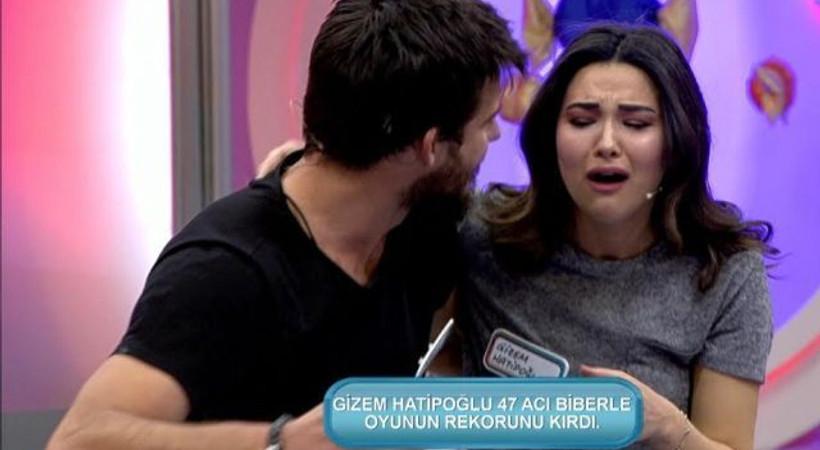 Gizem Hatipoğlu'nun acı biber rekoru!