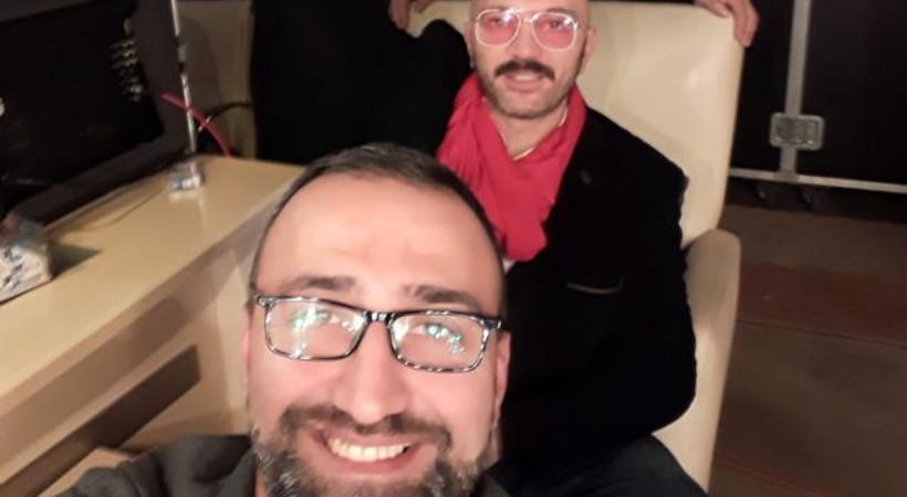 Ceyhun Yılmaz'dan şarkıcı Fahri İlker'e destek!