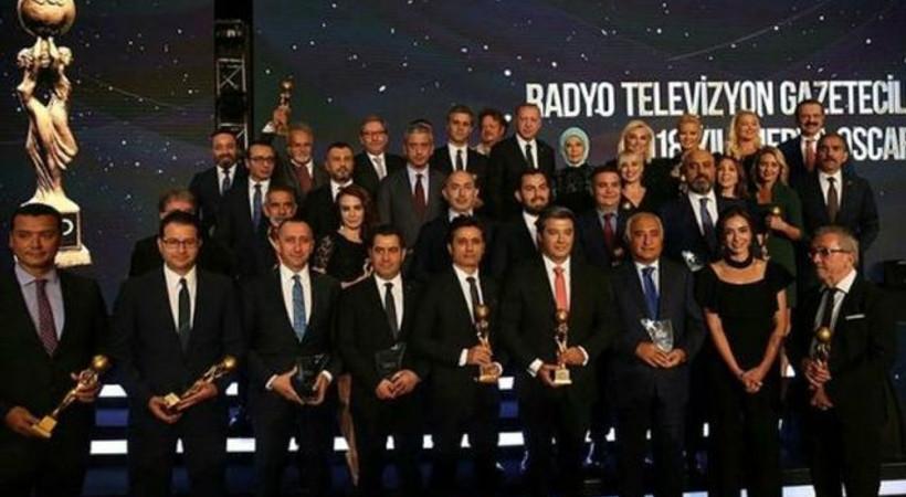 'RTGD Medya Oscarları' ödülleri sahiplerini buldu