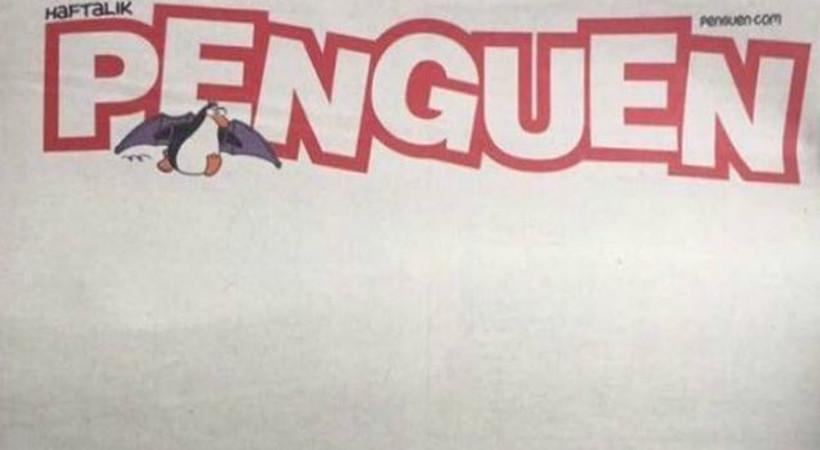 Penguen'den çok konuşulacak referandum kapağı
