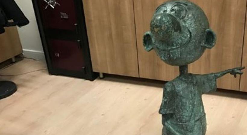 Avanak Avni heykelini çalan zanlı için istenen ceza belli oldu!