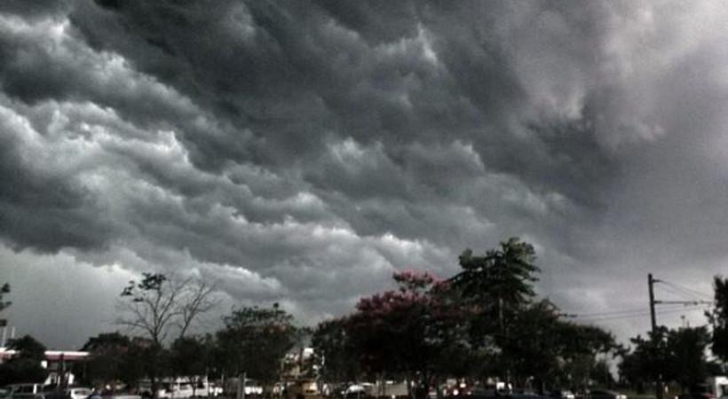 İstanbul'dan fırtına manzaraları