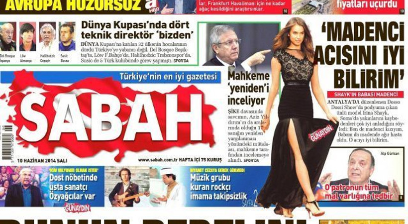 Basın Konseyi'nden Sabah gazetesine kınama!