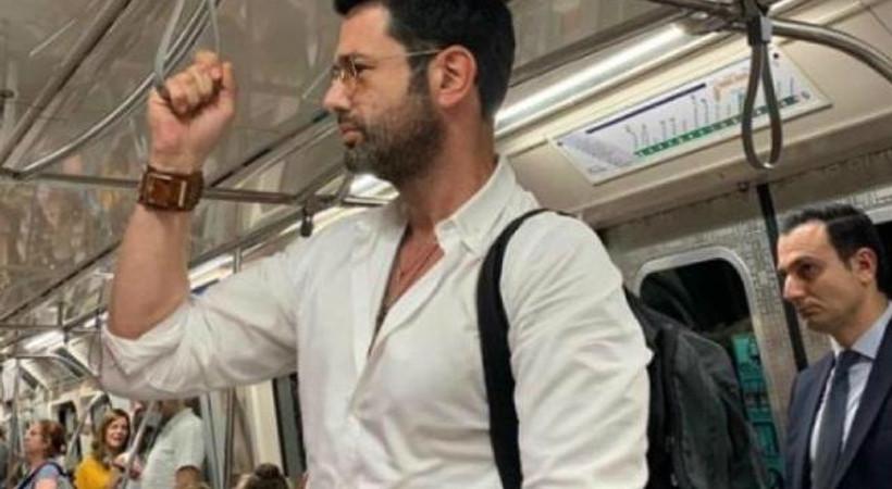 Keremcem'in imdadına metro yetişti!