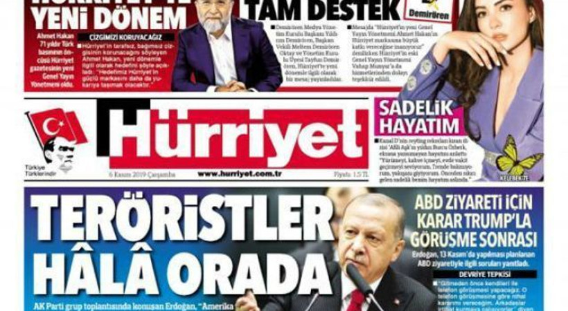 Hürriyet, Ahmet Hakan'ı böyle duyurdu!