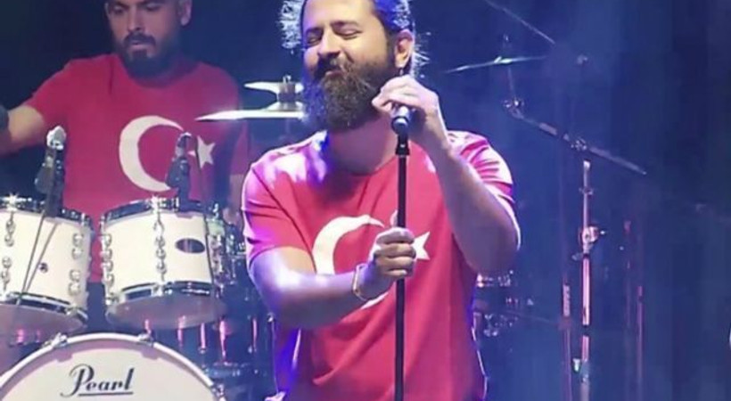 Irak'ta konser veren Koray Avcı Kürdistan bayrağını indirtti mi?