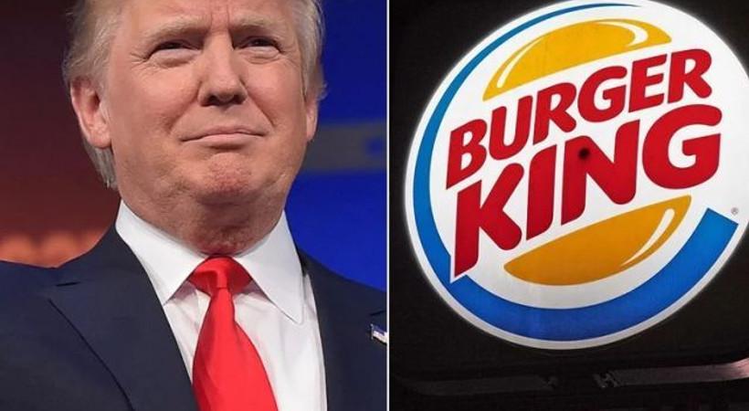 Trump, Burger King'in diline dolanırsa: Elimizde 'hamberder' kalmamıştır