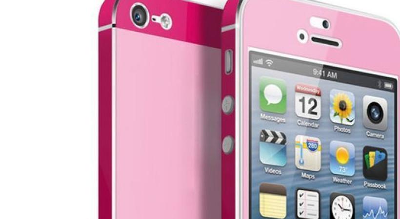 iPhone'lar pembe oluyor!