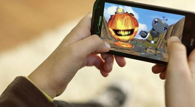 Akıllı telefonlar oyun cihazı oldu!