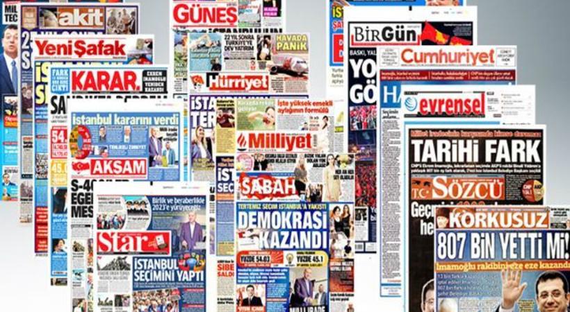 Ekrem İmamoğlu'nun tarihi zaferini hangi gazete nasıl gördü?