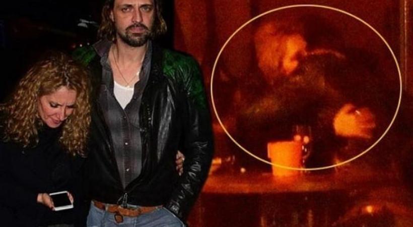 Ebru Özkan'ın eşi Ertan Saban bir kadınla görüntülendi