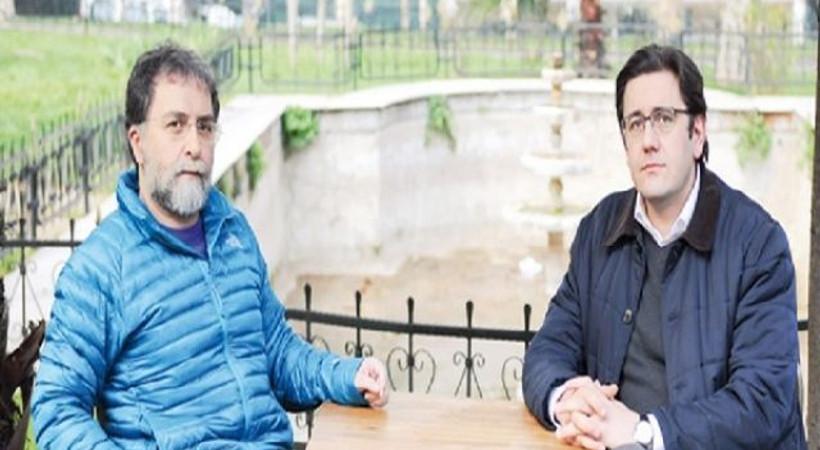 Sosyal medyada 'tecevüzcü dostu' sözleriyle eleştirilen Ahmet Hakan, Ensar Vakfı ile görüştü!
