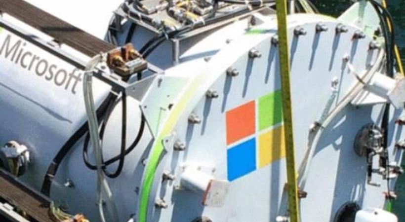 Microsoft, verileri denizin altında depolayacak