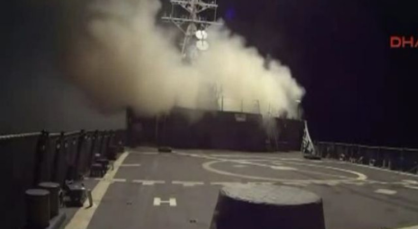 IŞİD'i vuran Pentagon yeni görüntüler yayınladı!