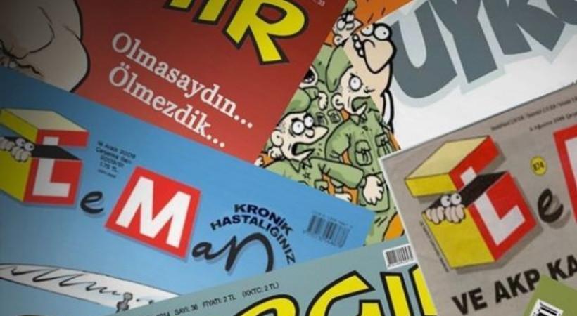 Mizah dergileri bu hafta hangi kapaklarla çıktı?