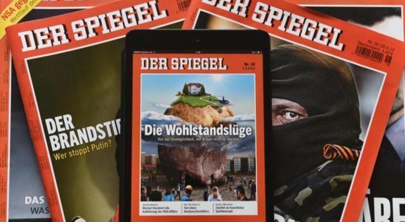 Der Spiegel 'Erdoğan şiiri' krizini kapağa taşıdı! Dergi bugün bakın nasıl çıktı?