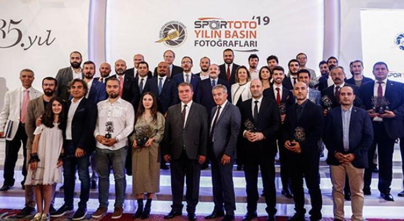 'Spor Toto Yılın Basın Fotoğrafları 2019 Ödülleri' sahiplerini buldu