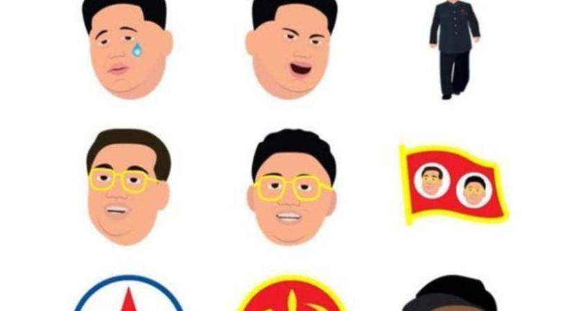 Emojiler savaşıyor: Kim jong Kim Kardashian'a karşı!