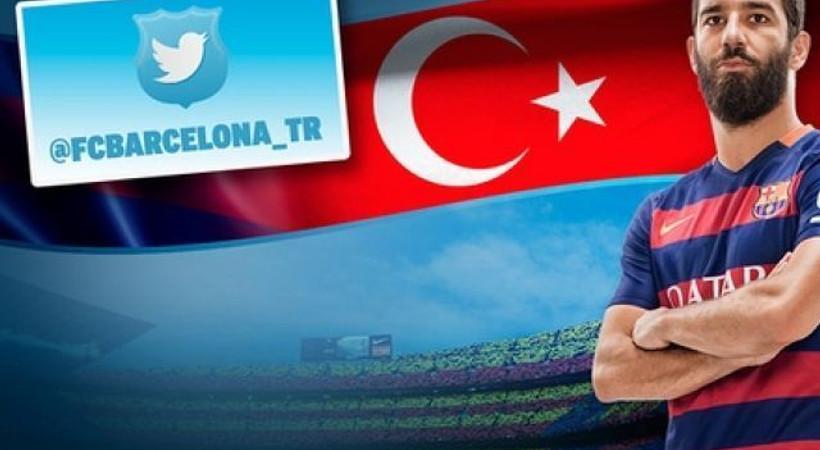 Barcelona Türkçe twitter hesabı açtı